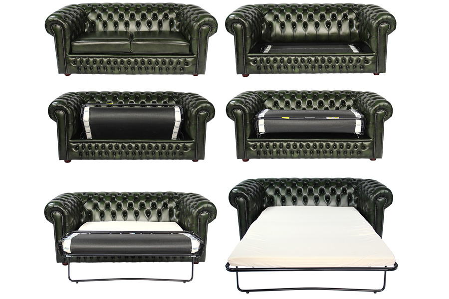 chesterfield schlafsofa das edle chesterfield als g stebett chesterfield m bel. Black Bedroom Furniture Sets. Home Design Ideas
